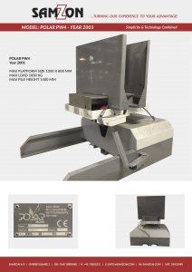 POLAR PW4 2001