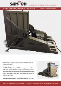 SAMZON V-EXCHANGER 120 - 2000-15